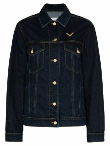 Valentino VGOLD denim shirt jacket - Blue