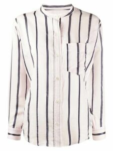 Isabel Marant Étoile Satchell striped shirt - PINK
