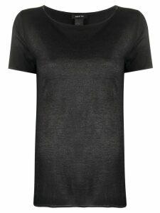 Avant Toi relaxed fit short sleeve T-shirt - Black