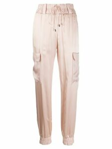 Tom Ford silk track pants - PINK