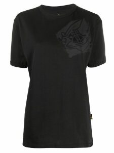 Vivienne Westwood Anglomania chest logo T-shirt - Black