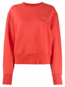 Ami Paris Ami de Coeur sweatshirt - Red