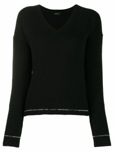 Joseph cashmere long-sleeve jumper - Black