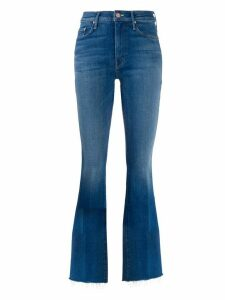 Mother mid-rise flared jeans - Blue