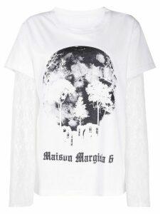 Mm6 Maison Margiela camera obscura print T-shirt - White