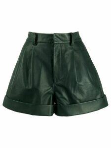 Isabel Marant Étoile pleated waist City shorts - Green