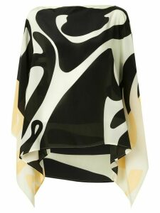 Emme Parsons Accardi abstract-print top - Black