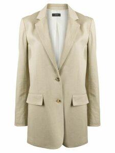 Joseph Mayfield single-breasted blazer - NEUTRALS