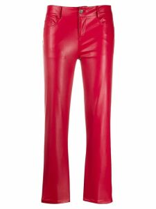 LIU JO flared cropped length trousers