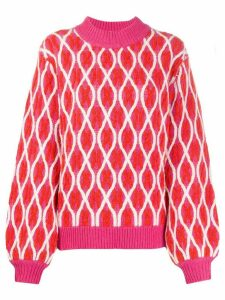 Stine Goya long sleeve Anders sweater - PINK