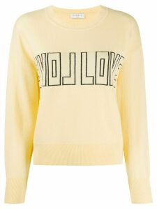 Sandro Paris Yelli jumper - Yellow