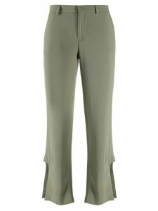 Each X Other cut out cropped trousers - Green