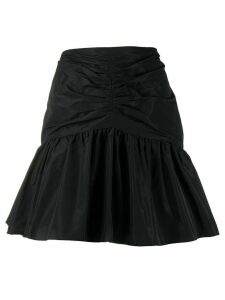 Brognano gathered detail skirt - Black