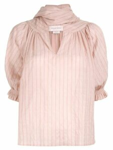 Karen Walker Mouseion blouse - PINK