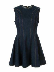 Karen Walker sleeveless short dress - Blue