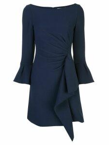 Jonathan Simkhai ruffle trim short dress - Blue