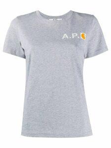 A.P.C. x Carhatt WIP T-shirt - Grey