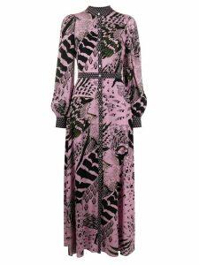 Temperley London Rosella maxi shirt dress - PINK