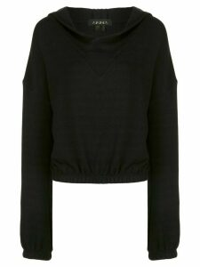 ALALA Aspen jersey hoodie - Black