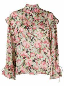 Pinko floral-print shirt