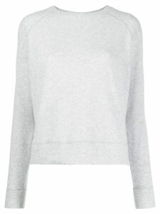 Vince plain fitted sweatshirt - Grey
