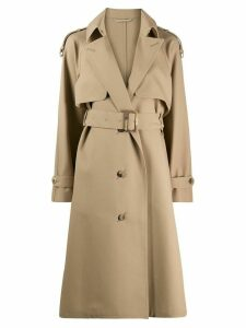 Golden Goose Serenity single-breasted trench - NEUTRALS