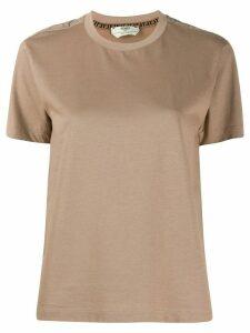 Fendi FF motif T-shirt - NEUTRALS