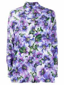 Dolce & Gabbana floral print shirt - PURPLE