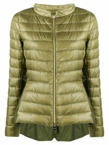 Herno funnel-neck quilted-down jacket - Green