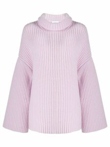 Nanushka oversized soft jumper - PURPLE