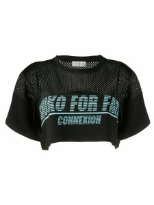 Faith Connexion Shuko graphic-print T-shirt - Black