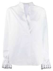 See By Chloé flared-cuff blouse - White