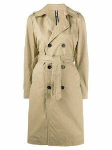 Dsquared2 double breasted trench coat - NEUTRALS