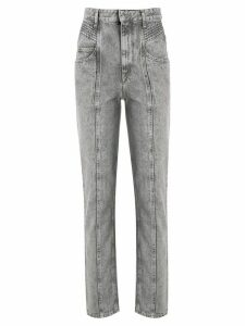 Isabel Marant Étoile Henoya high-rise slim-fit jeans - PURPLE