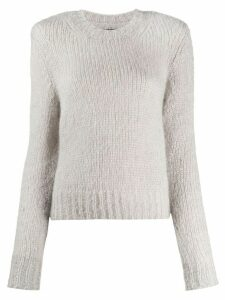 Isabel Marant Idona ribbed crew neck jumper - Grey