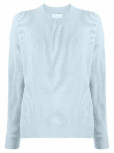 Christian Wijnants ribbed knit raglan sweater - Blue