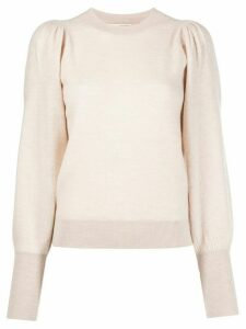 Ulla Johnson long-sleeve fitted jumper - PINK