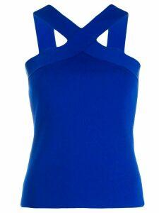 P.A.R.O.S.H. criss-cross sleeveless top - Blue