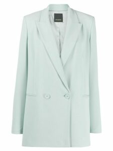 Pinko straight double-breasted blazer - Green