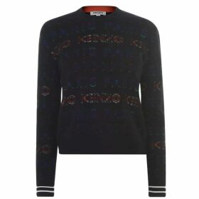 Kenzo All Over Logo Knit Sweater