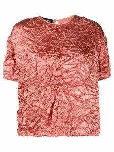 Rochas loose fit blouse - PINK