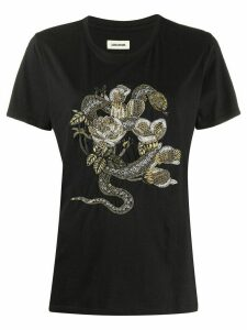 Zadig & Voltaire graphic print T-shirt - Black
