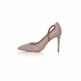 STUDIO MYR - Boatneck Woollen Jumper In Audrey Hepburn Style Tweed-Ginger