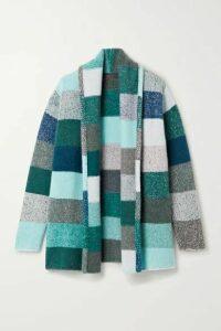 The Elder Statesman - Striped Cashmere Cardigan - Blue