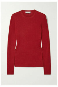Michael Kors Collection - Ribbed Cashmere Sweater - Red