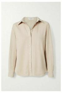 Salvatore Ferragamo - Suede Shirt - Off-white