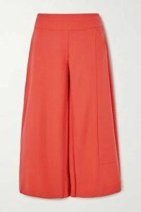 palmer//harding - Vana Crepe Wide-leg Culottes - Orange