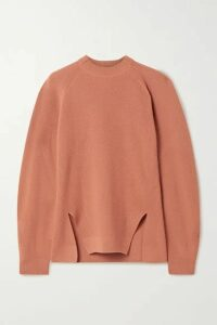 Loro Piana - Girocollo Brixton Ribbed Cashmere Sweater - Orange