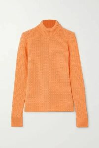 GAUGE81 - Cairns Cable-knit Cashmere Turtleneck Sweater - Orange