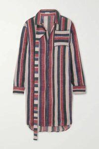 Loewe - Oversized Striped Cotton Shirt - Pink